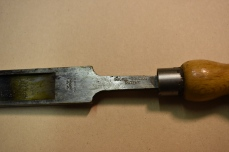 Mitchie Golledge Patent Rubber Tapping Knife, Detail of Trade Marks Inventory No.0022AG