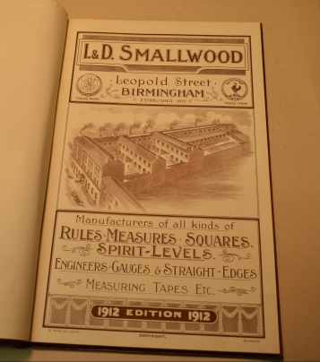 I & D Smallwood, 1912 Catalogue