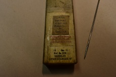 Upholstery Needle. Inv. No. 0059AG