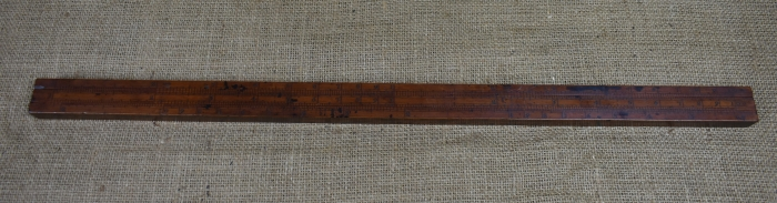 "24"" Gauger's slide rule"