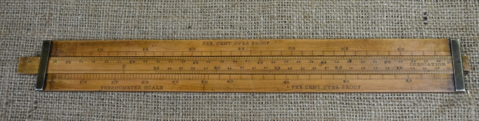 "12"" Gauger's slide rule"
