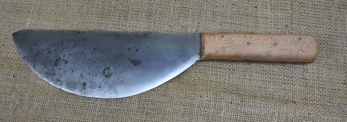 George Barnsley & Sons, Cornish Works, Sheffield half round currier's knife