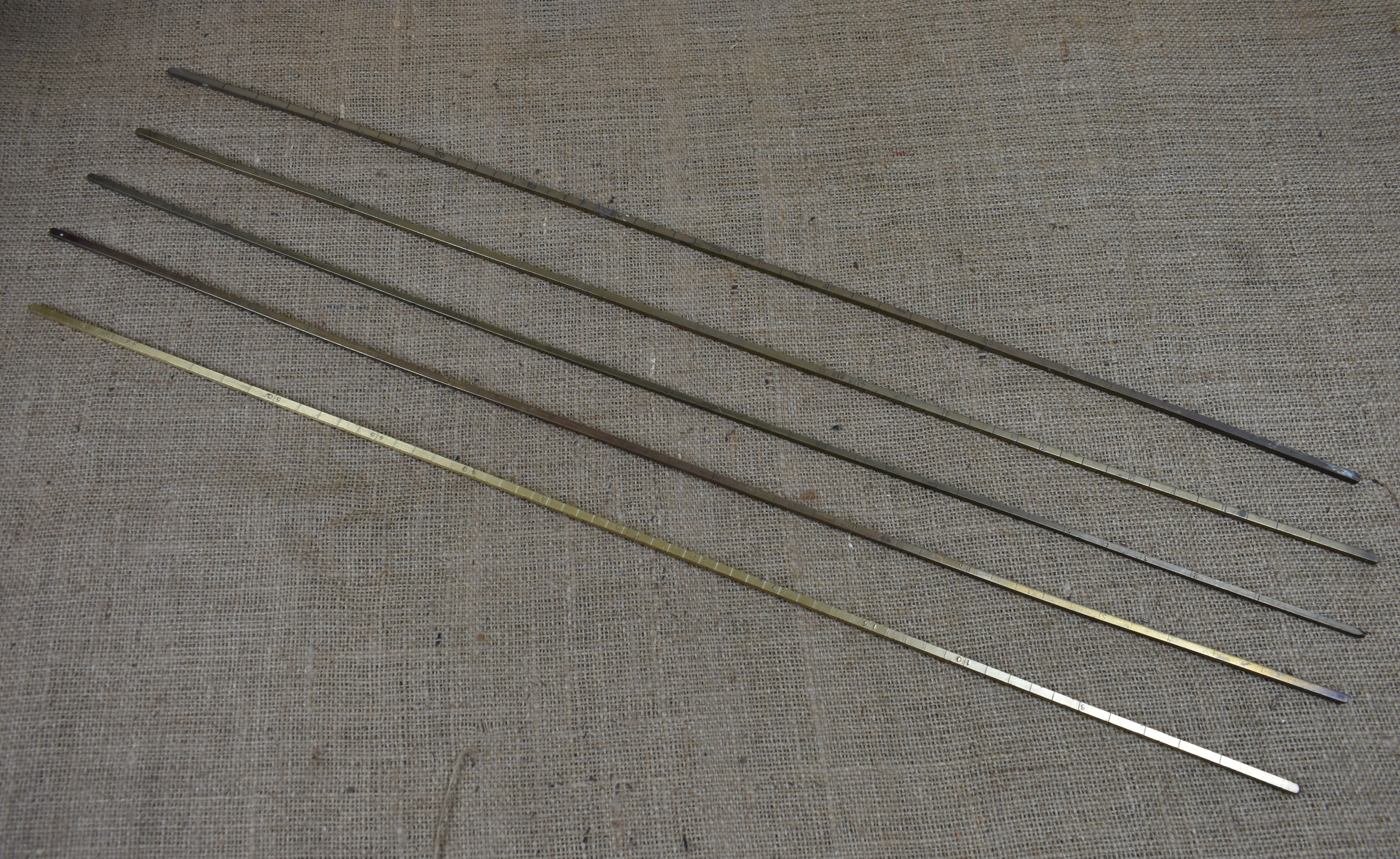Brass Square Spile Rods