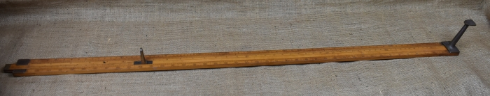 "44"" Head Rod, Marked Dring & Fage Ltd, London. Inventory No.0350AG"