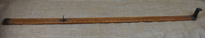 "44"" Head Rod, Marked Dring & Fage, Makers to the Customs."