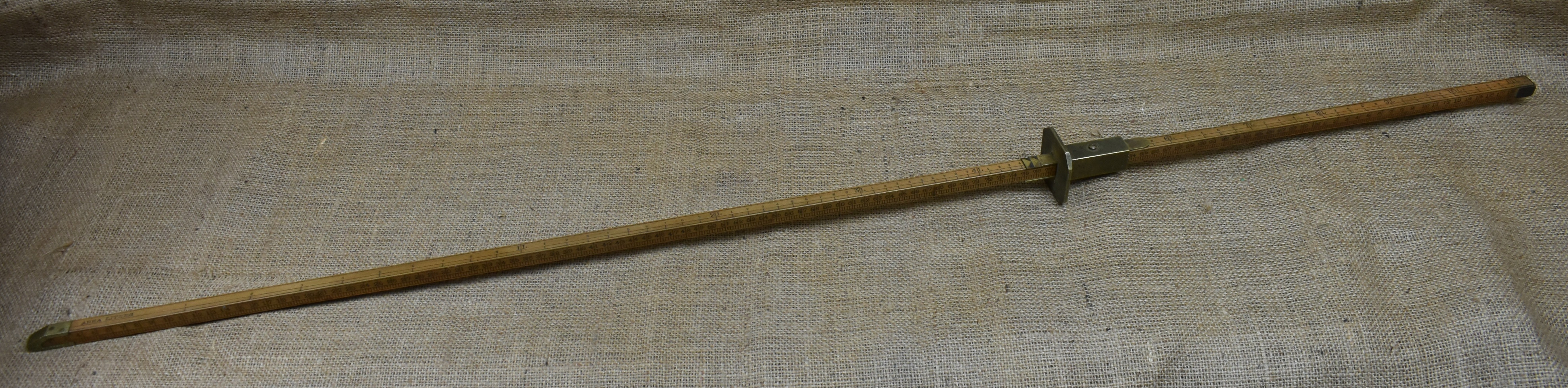 1.2m bung rod by Bentley & Taylor, for Area Litres and Diagonal Line litres, Customs & Excise.