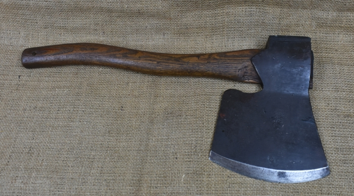 4lb Coachmaker's side axe by W.Gilpin, Wedges Mills.