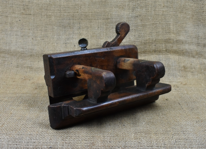Wooden Plough Plane by William Madox, London 1748-1775