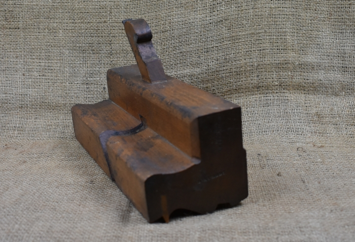 "3.5/8"" wide moulding plane by Moseley & Son, London."