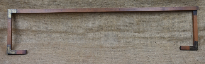 """Gauger's long caliper by J.Gilbert, 1719-91. Used to measure the length of a barrel. Will measure up to 66""""."""