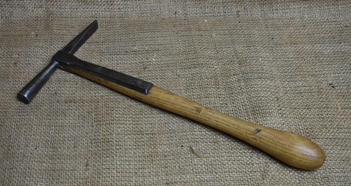 Upholsterer's hammer. Inventory No.0423AG