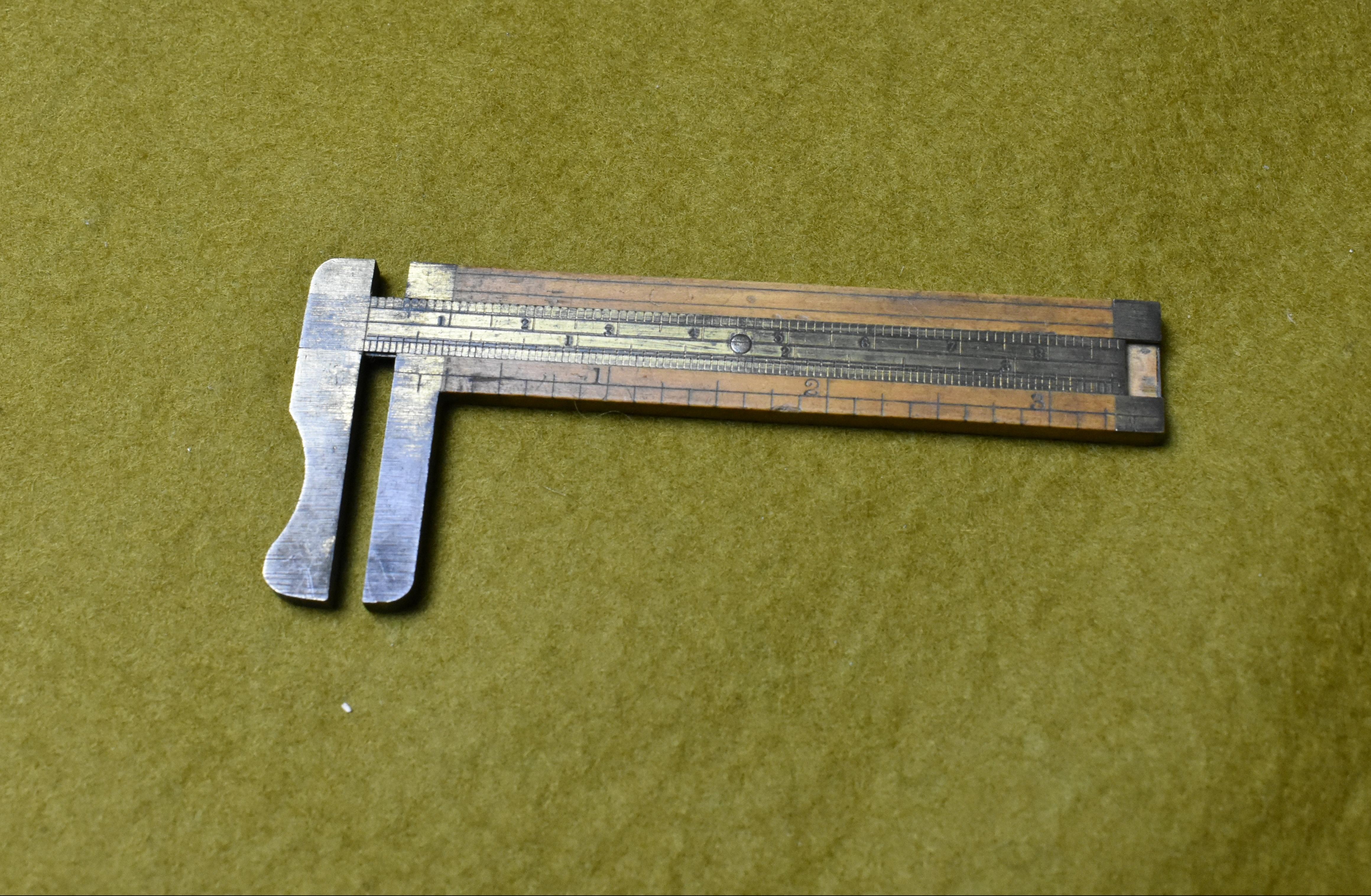 "3.1/2"" Calliper rule marked Henry Howell & Co., Stick Mftrs. London"