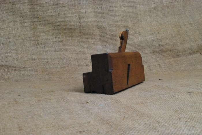 Triple iron moulding plane marked Mc.Glashan.