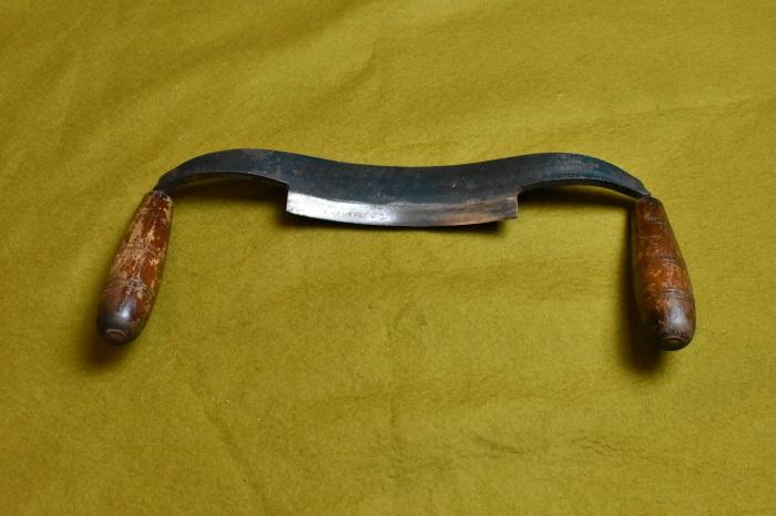 """6"""" Hollowing Knife, P.W.Walker. 6"""" blade, total width 14""""."""