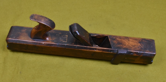 "18"" Badger Plane by A.Lockey, London (Approx. 1780) with 1.7/8"" double iron by John Green."